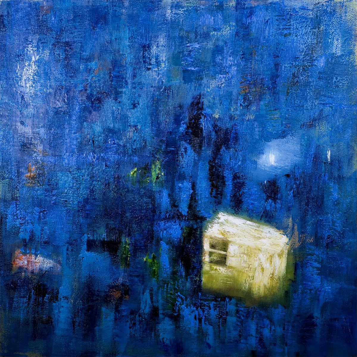 Enclosed - Oil on Canvas 91cm x 91cm