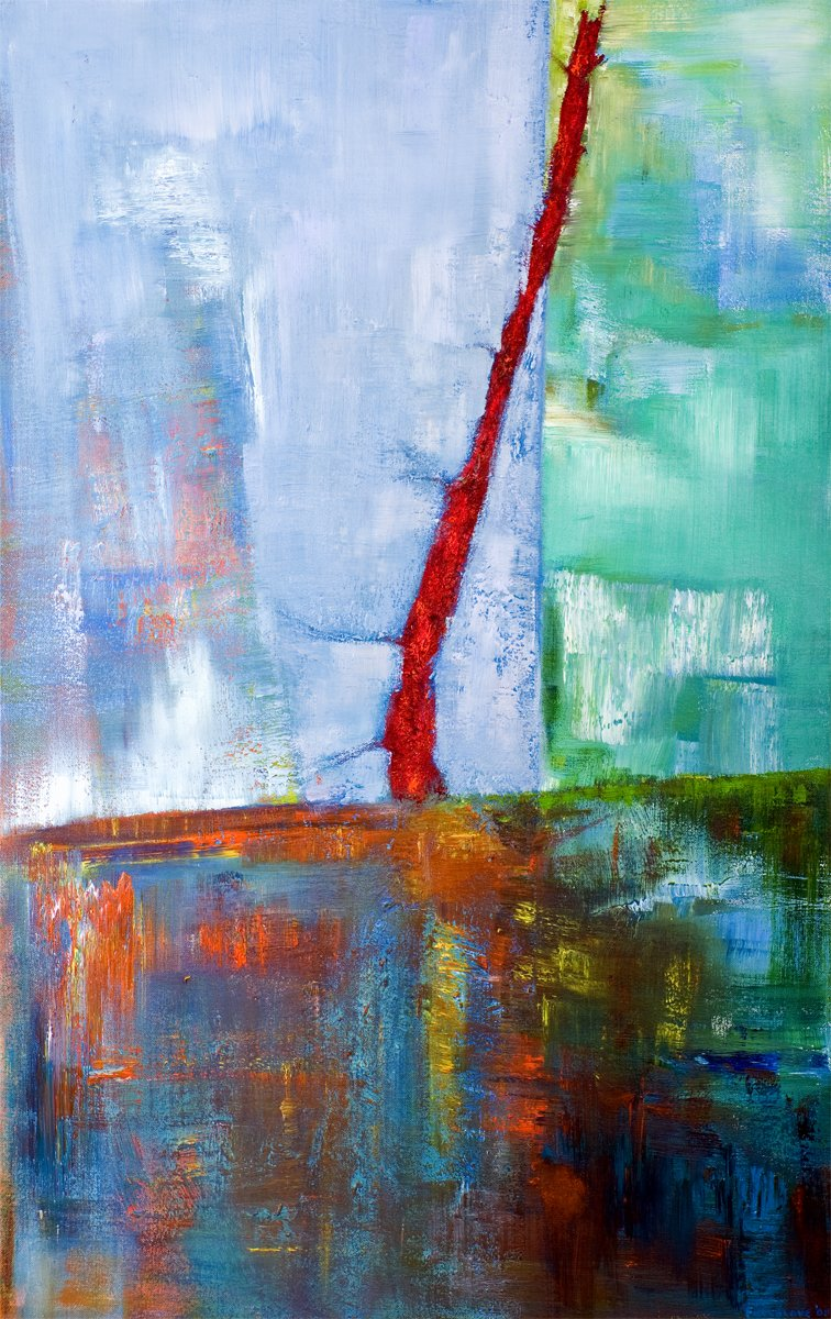 Reclaimed - Oil on Canvas 91cm x 61cm