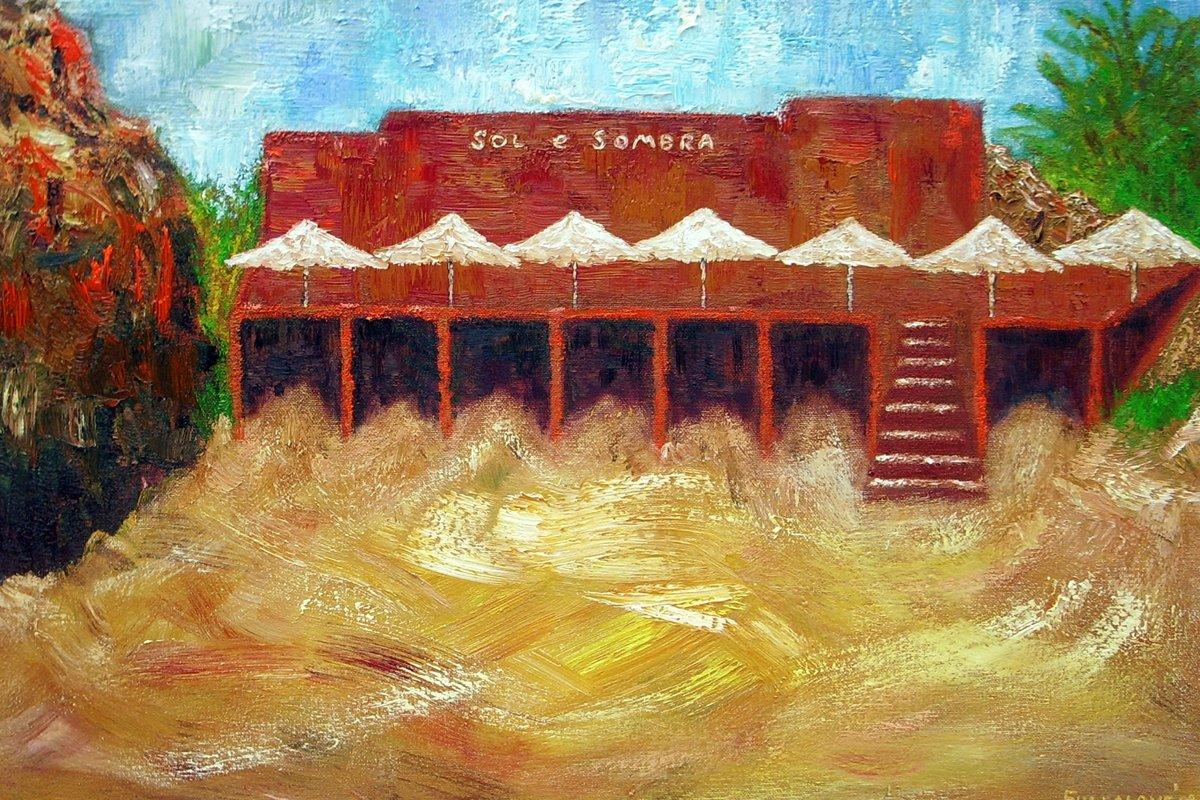 Sol e Sombra - Oil on Canvas 46cm x 61cm