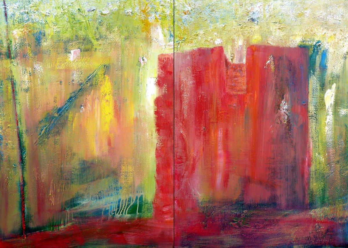 Convento - Oil on Canvas 87cm x 123cm