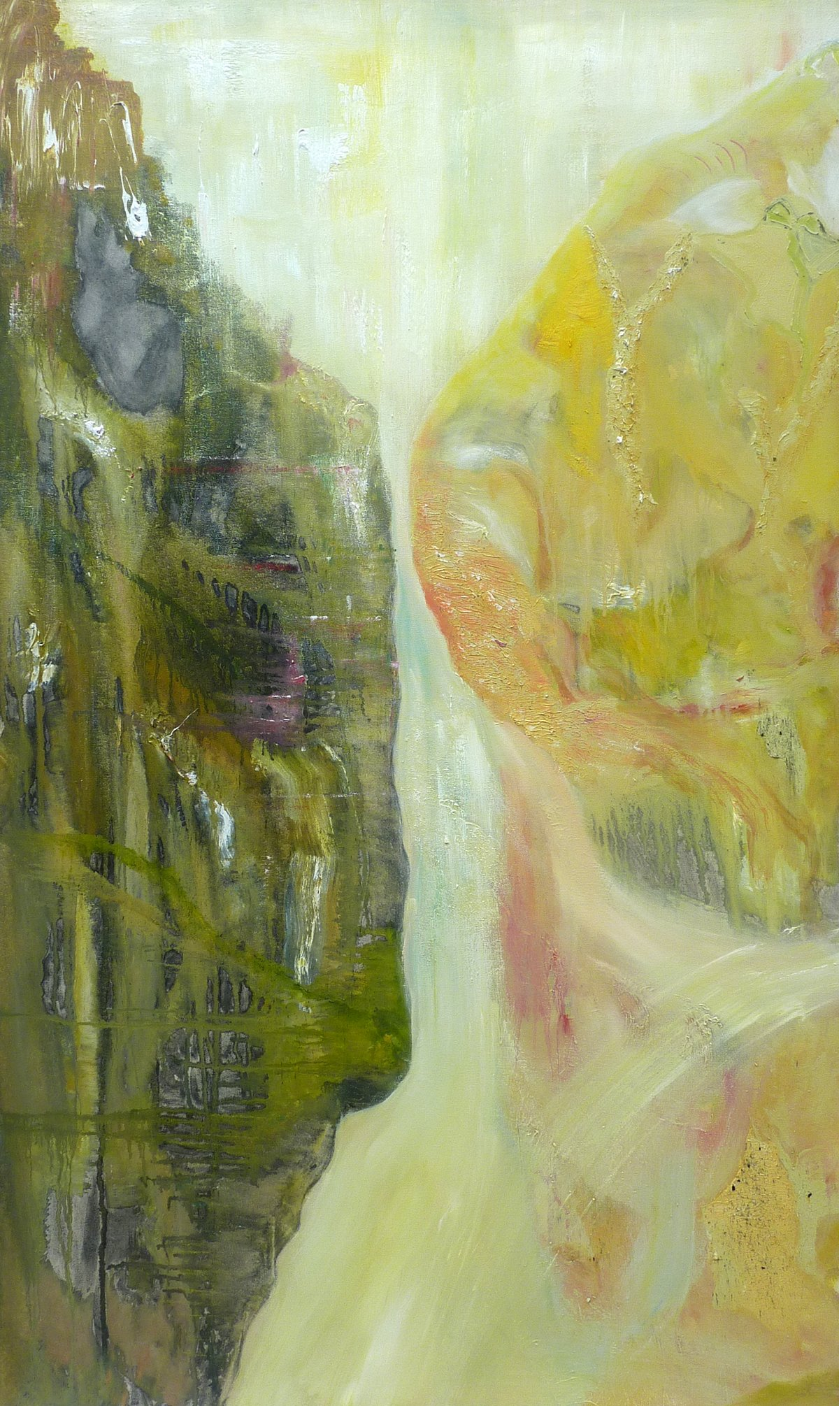 Discord with Harmony - Oil on Canvas 97cm x 158cm