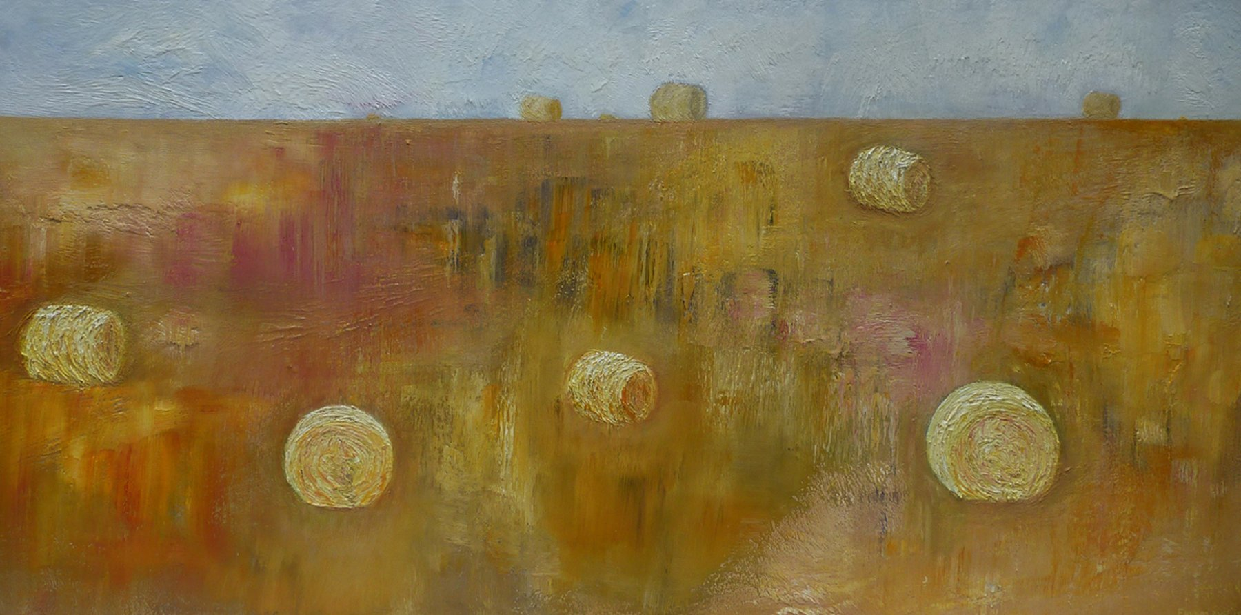 Fields of Gold - Oil on Canvas 66cm x 112cm
