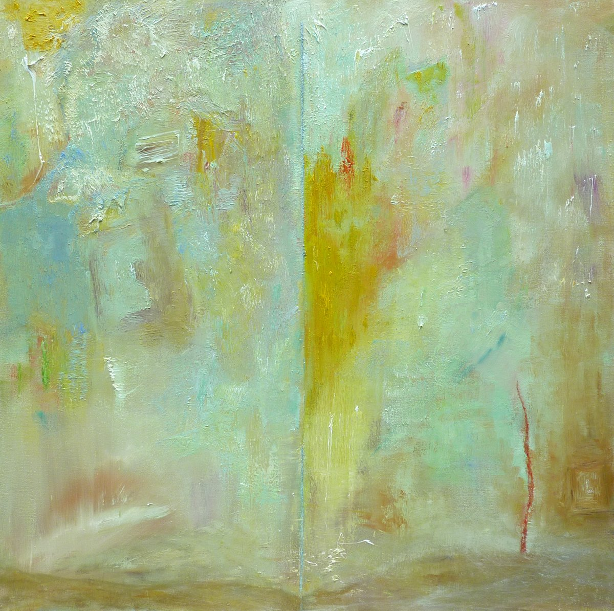 Light and Revelations - Oil on Canvas 120cm x 120cm