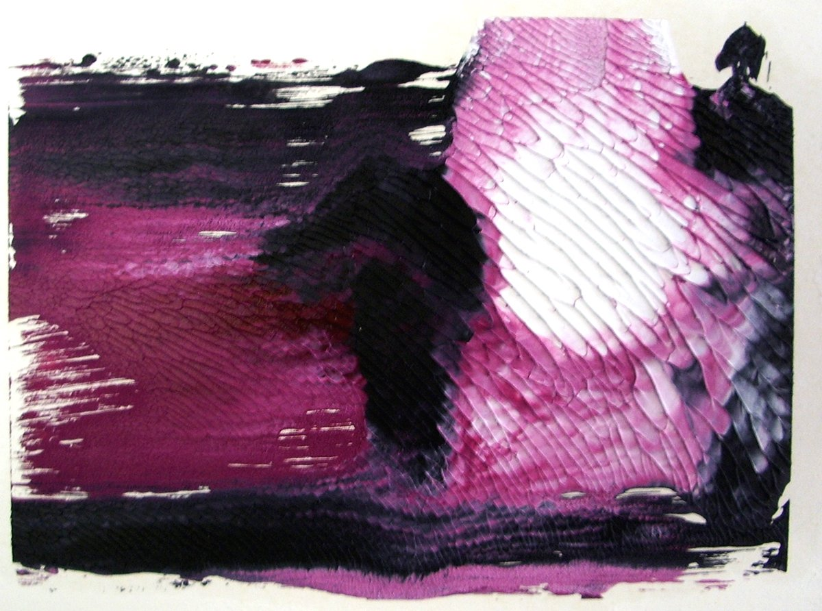 More Prints 28 - Oil on Paper