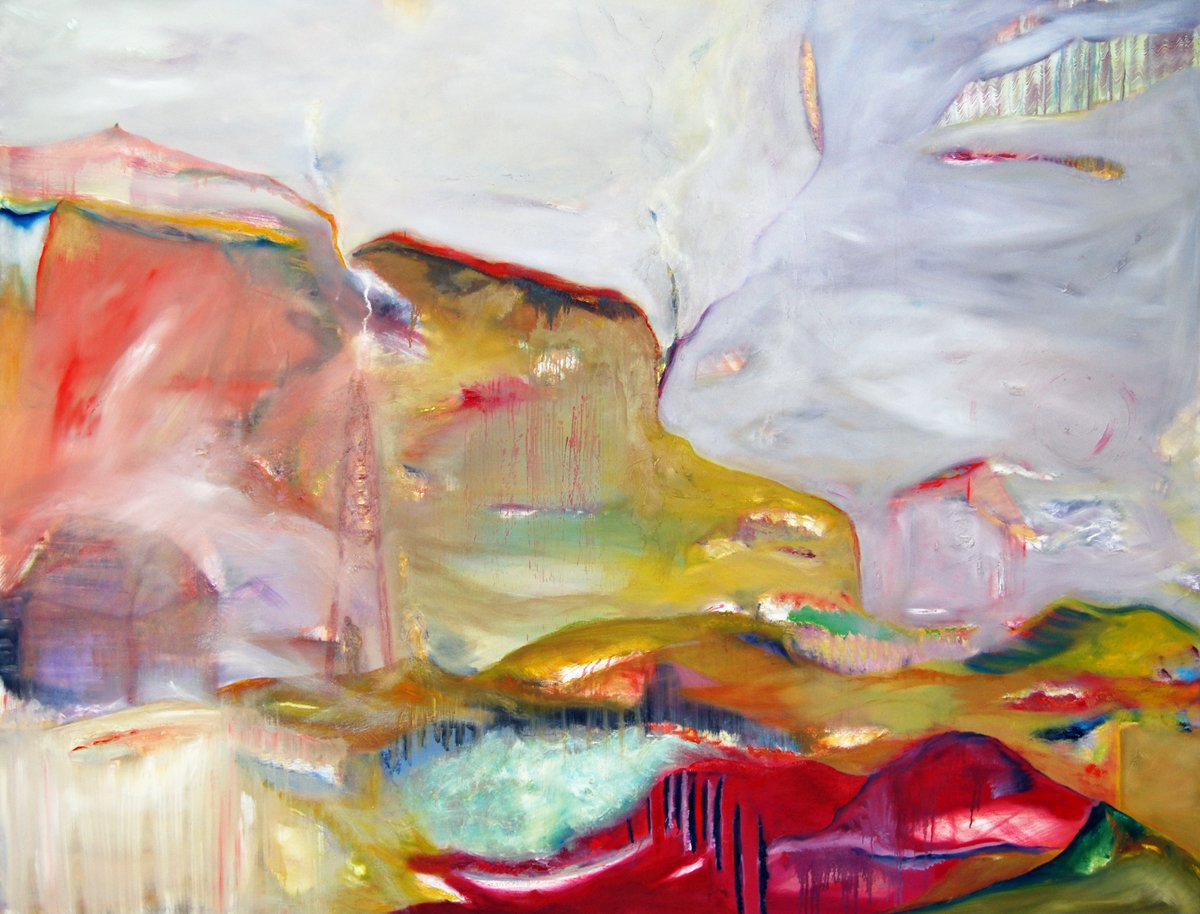 Transition - Oil on Canvas - 183cm x 240cm