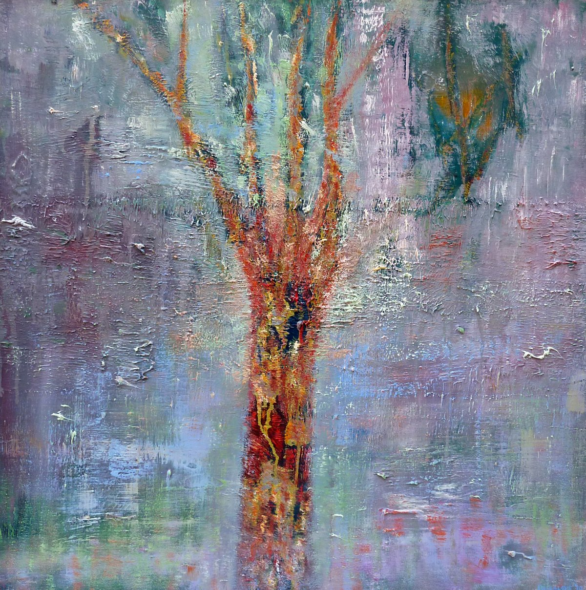 Portrait of a Tree - Oil on Canvas - 81cm x 81cm