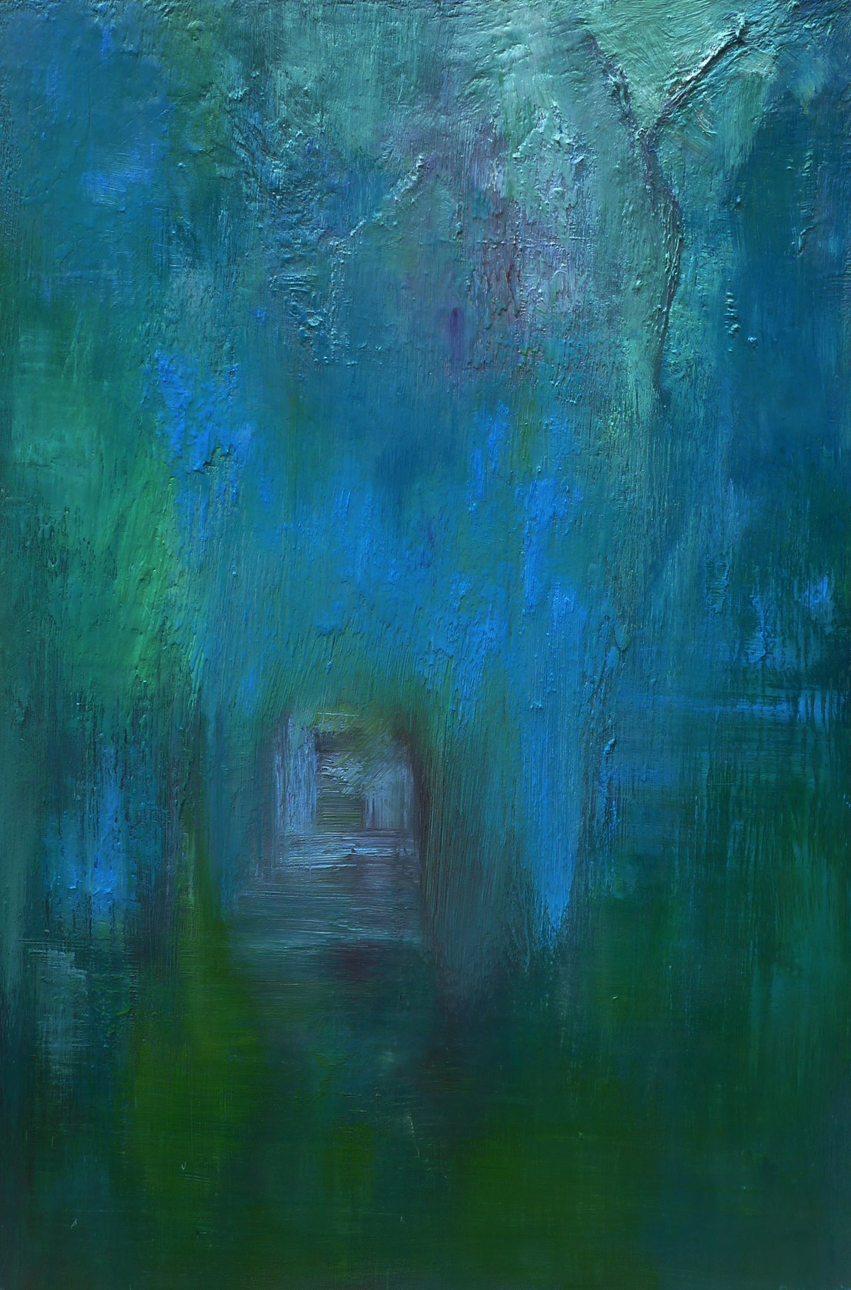Silent Journey - Oil on Canvas - 97cm x 66cm