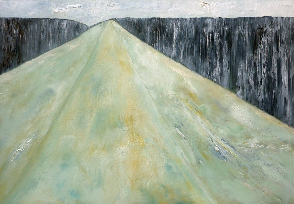 Silent Landscape - Oil on Canvas - 89cm x 125cm