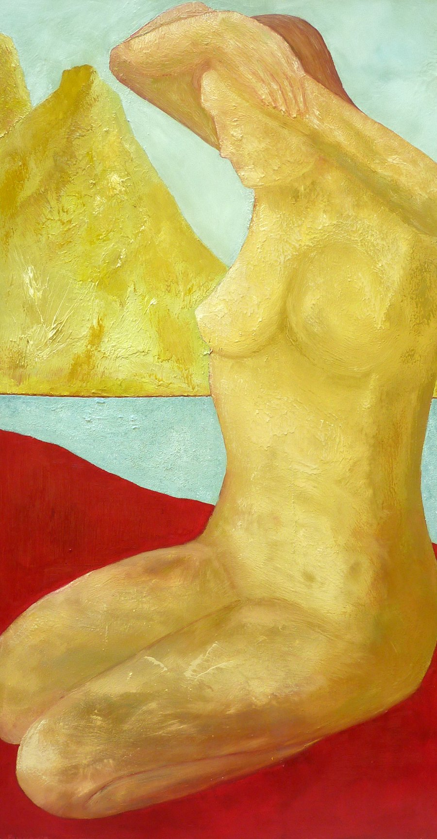 Everywoman - Oil on Canvas - 122cm x 66cm