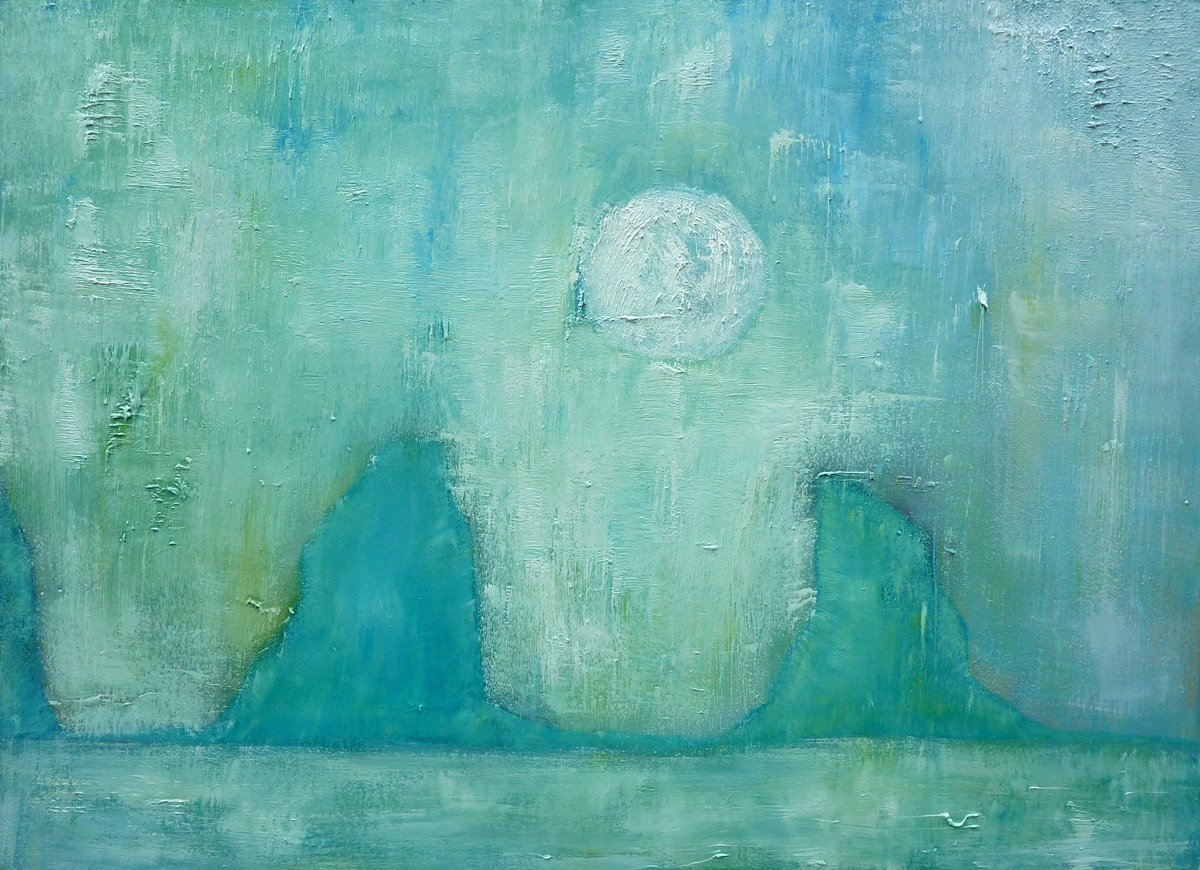 Time Past and time Future Oil on Canvas - 82cm x 112cm