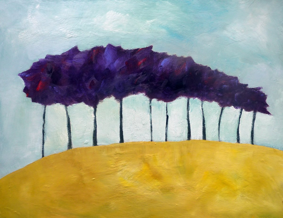 Trees of Hope - Oil on Panel - 58cm x 74cm
