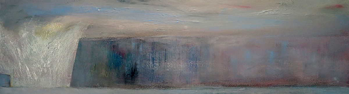 Another Land - oil on canvas - 32cm x 105cm