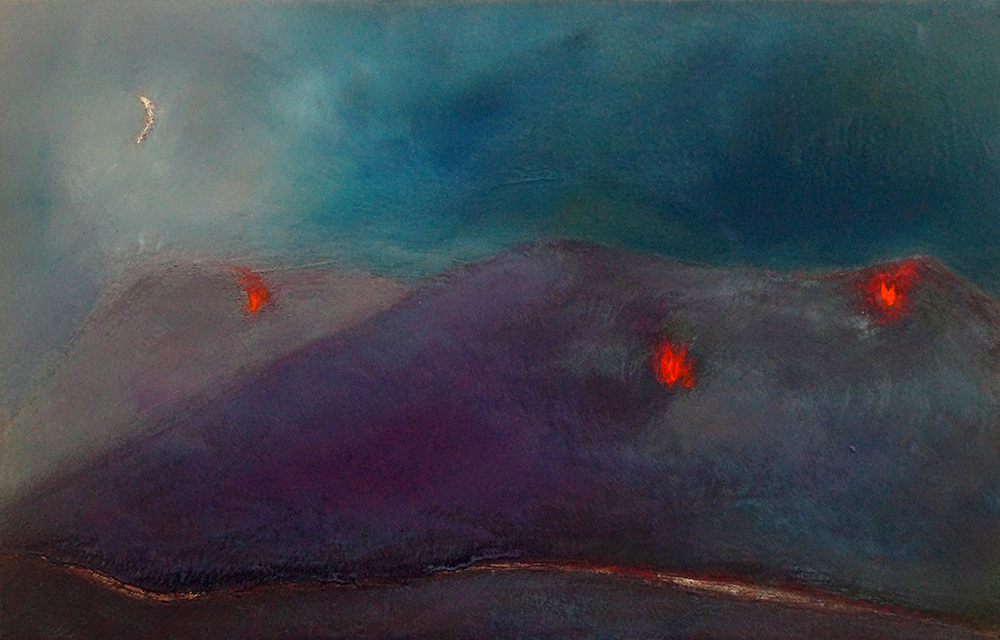 Beacons of Hope - Oil on Panel - 28.5cm x 44cm