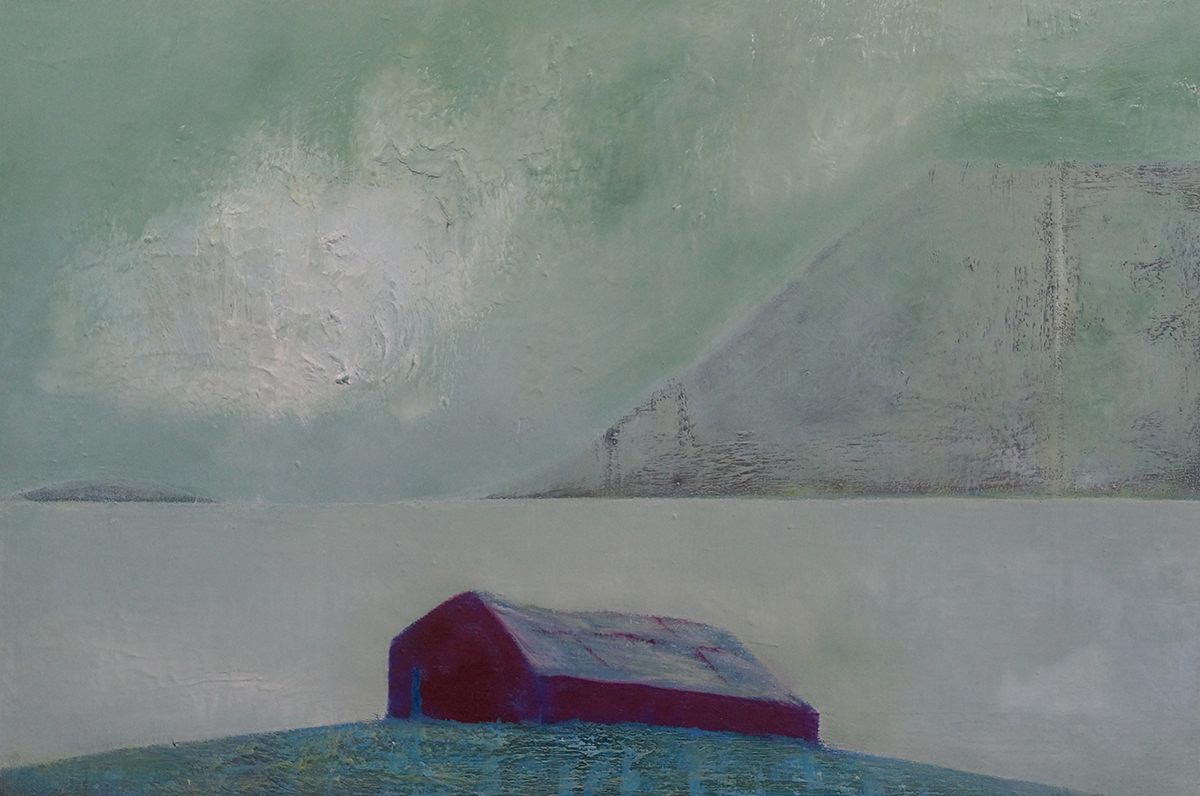 From A Silent Place - Oil on Canvas - 61cm x 91.5cm