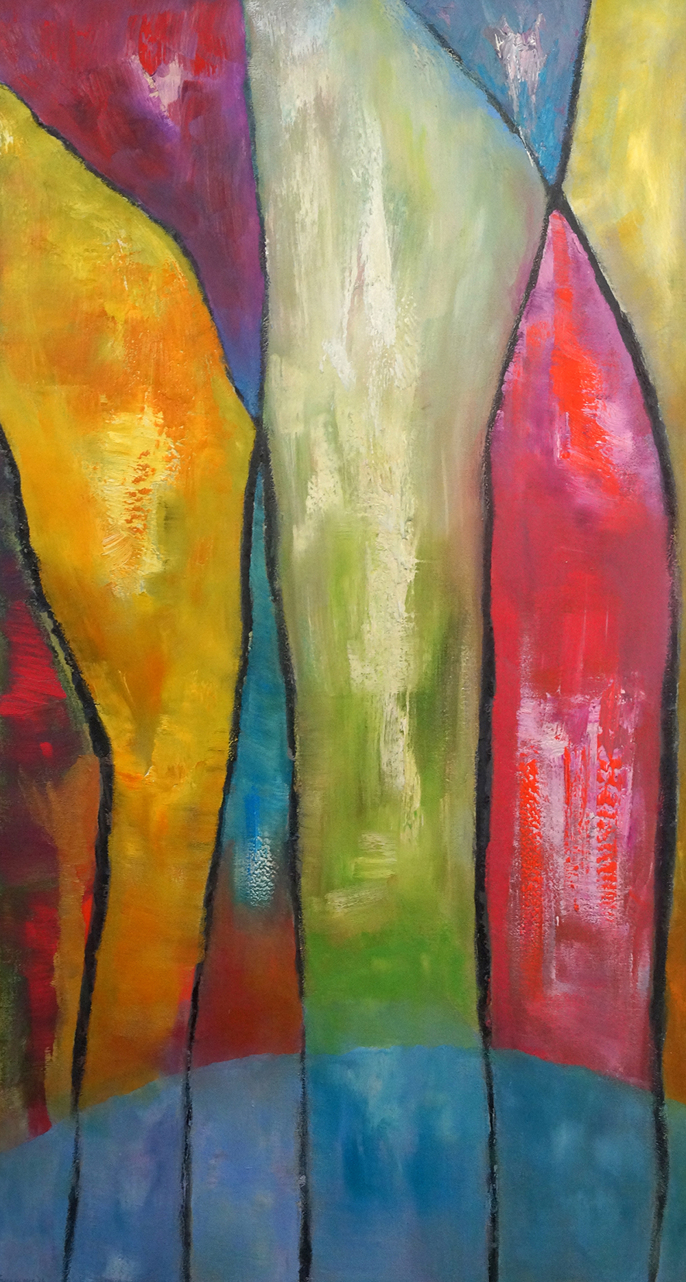 Light of the Land - Oil on Canvas - 132cm x 71cm