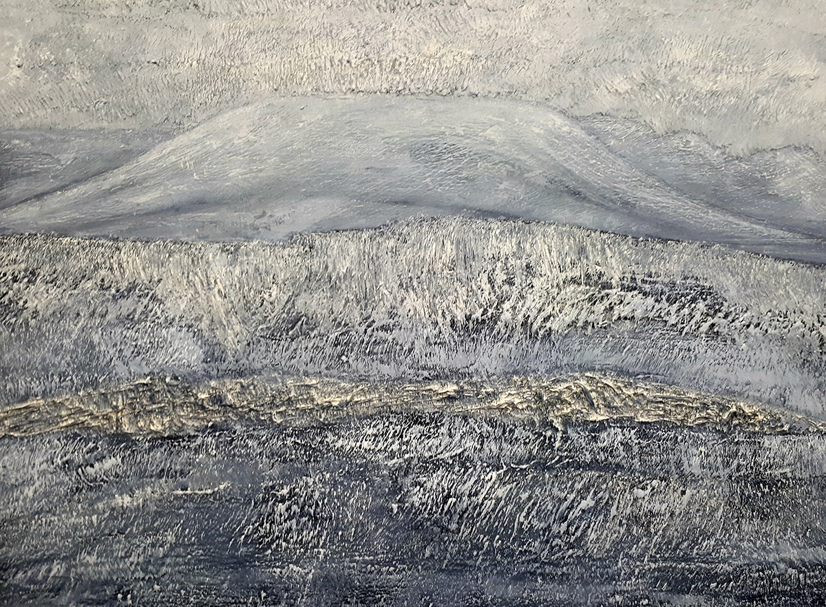 Echoes From Ushers Hill - Oil on Panel - 51cm x 66cm