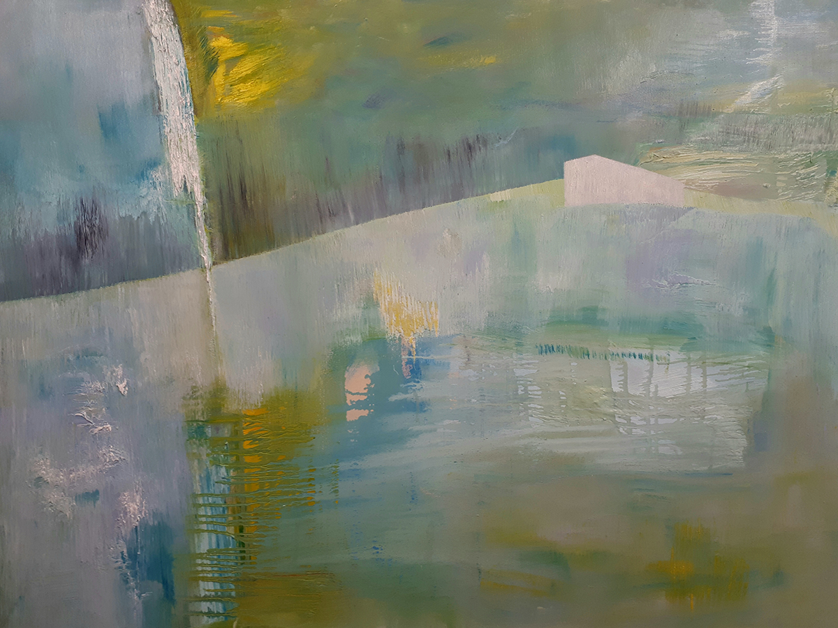Edge of Seclusion - oil on canvas - 96 x 127cm