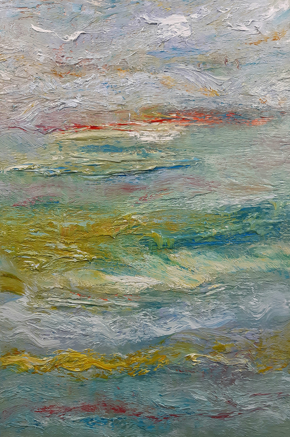 Fragments - oil on canvas - 97 x 66cm