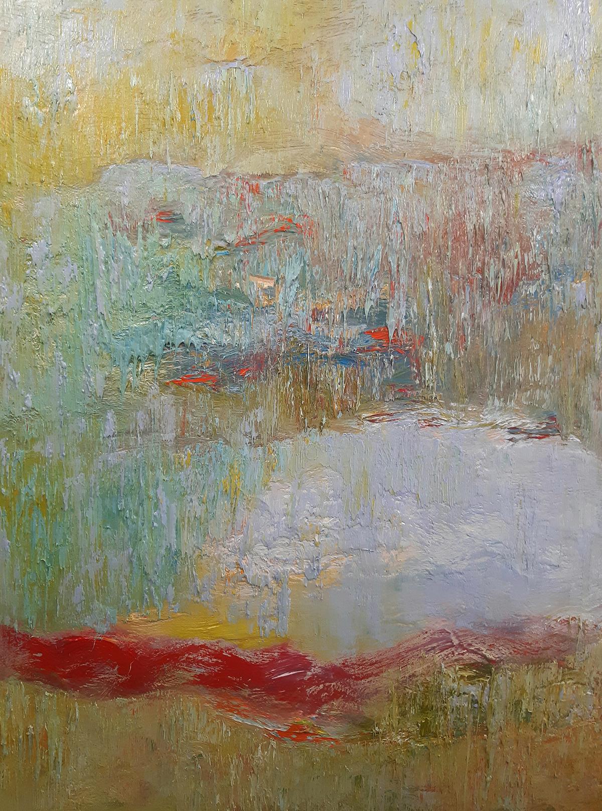 Gathered Light - oil on canvas - 127 x 97cm